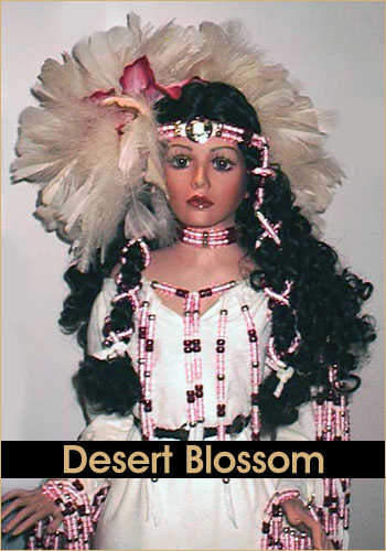 Desert Blossom by Rustie - Rustie Dolls - Native American Indian