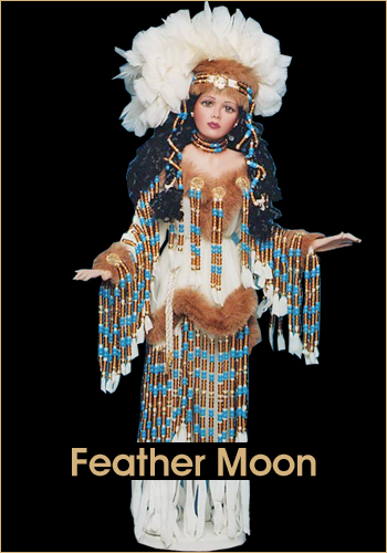 Feather Moon by Rustie - Rustie Dolls - Native American Indian