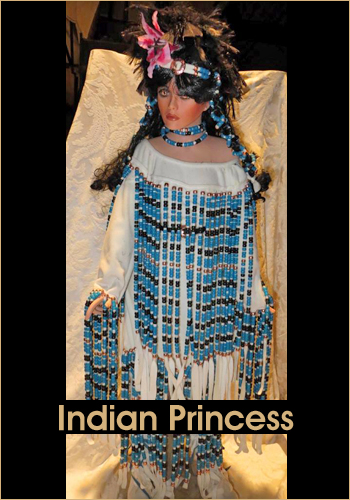 Indian Princess by Rustie - Rustie Dolls - Native American Indian