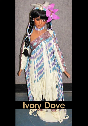 Ivory Dove by Rustie - Rustie Dolls - Native American Indian