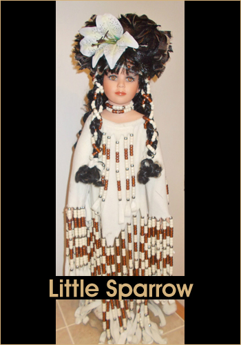 Little Sparrow by Rustie - Rustie Dolls - Native American Indian
