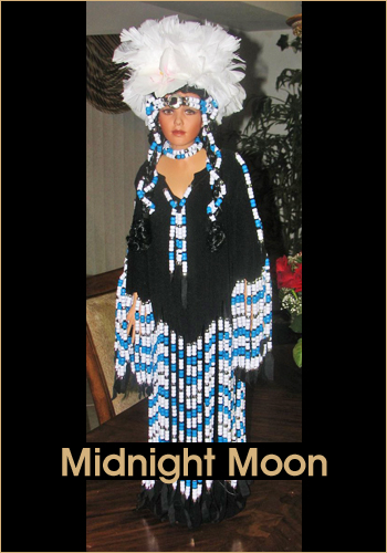 Midnight Moon by Rustie - Rustie Dolls - Native American Indian