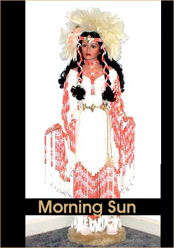 Morning Sun by Rustie - Rustie Dolls - Native American Indian