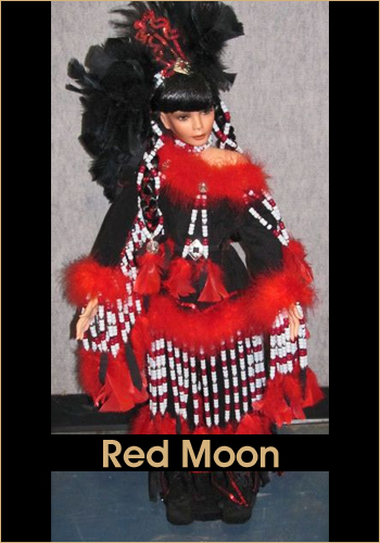 Red Moon by Rustie - Rustie Dolls - Native American Indian