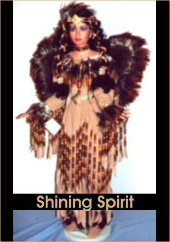 Shining Spirit by Rustie - Rustie Dolls - Native American Indian