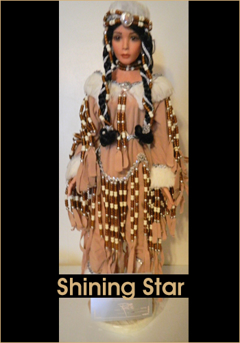 Shining Star by Rustie - Rustie Dolls - Native American Indian