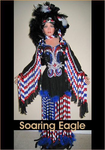 Soaring Eagle by Rustie - Rustie Dolls - Native American Indian