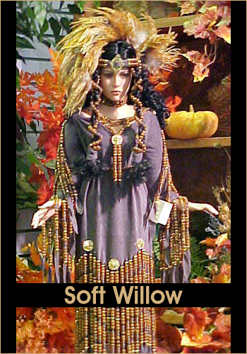 Soft Willow by Rustie - Rustie Dolls - Native American Indian