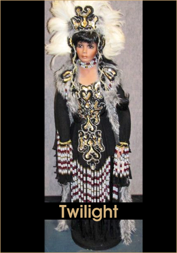 Twilight by Rustie - Rustie Dolls - Native American Indian