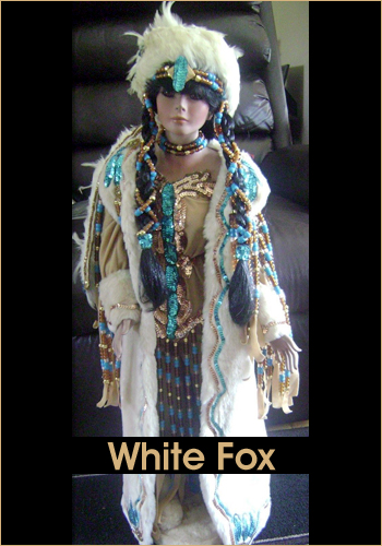 White Fox by Rustie - Rustie Dolls - Native American Indian