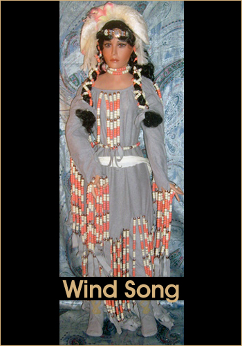 Wind Song by Rustie - Rustie Dolls - Native American Indian